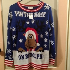 Ultra Flirt Christmas Sweater NWT